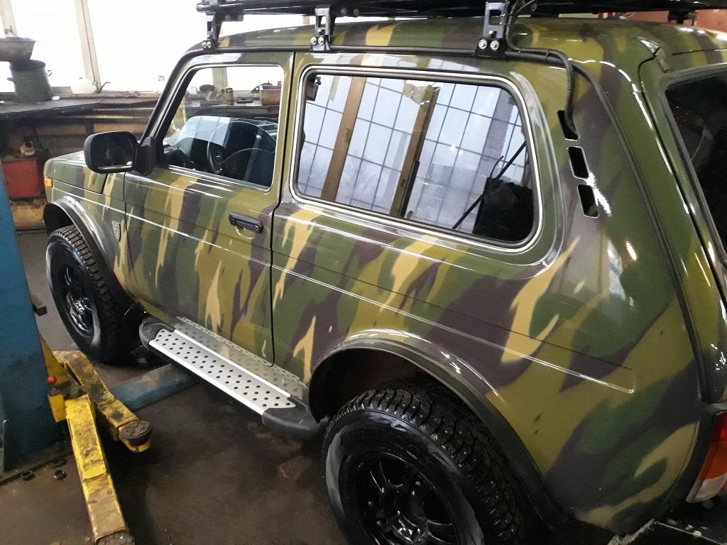 Техцентр Нива777 наши работы: Нива Бронто Тойота 3s-ge (2)