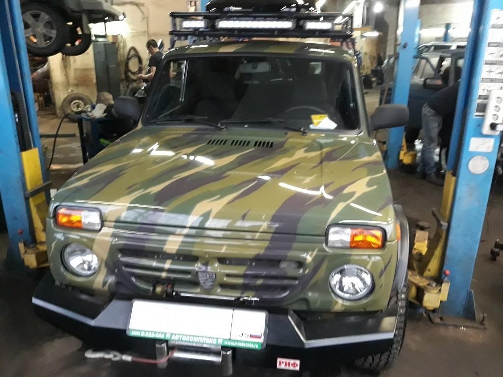 Техцентр Нива777 наши работы: Нива Бронто Тойота 3s-ge (4)
