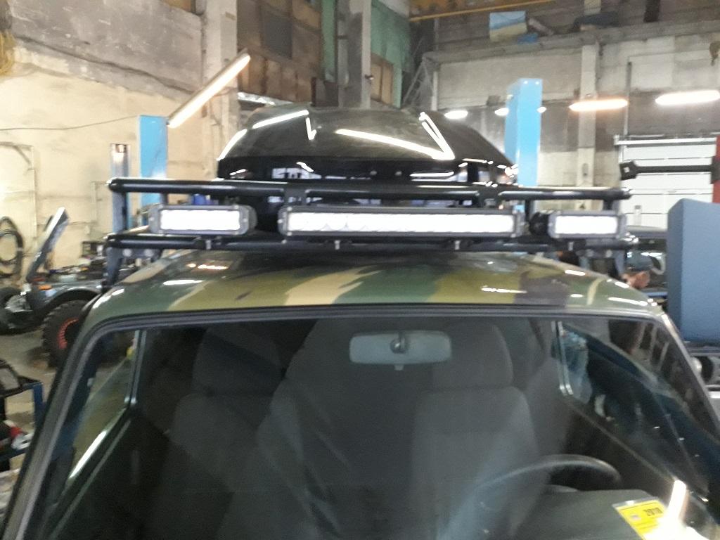 Техцентр Нива777 наши работы: Нива Бронто Тойота 3s-ge (5)