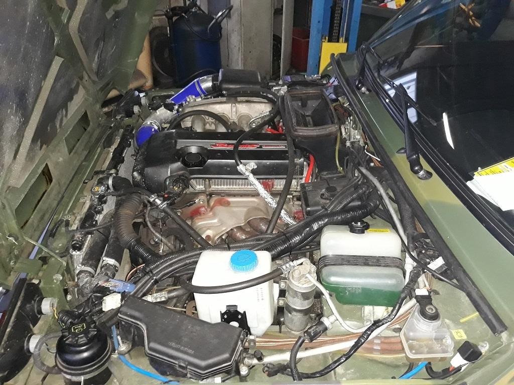 Техцентр Нива777 наши работы: Нива Бронто Тойота 3s-ge (11)