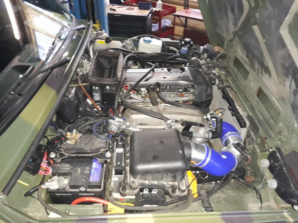 Техцентр Нива777 наши работы: Нива Бронто Тойота 3s-ge (12)