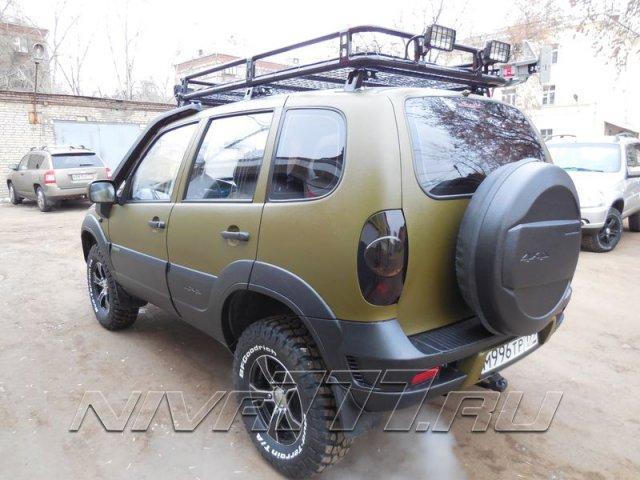 Экспедиционный багажник (корзина) на Ниву и Шевроле (3)