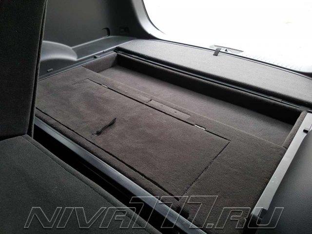 Техцентр Нива777 наши работы: Сейф в багажник (4)