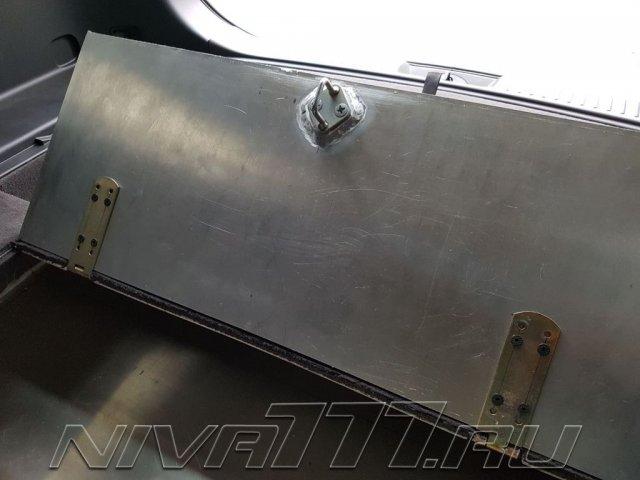 Техцентр Нива777 наши работы: Сейф в багажник (7)