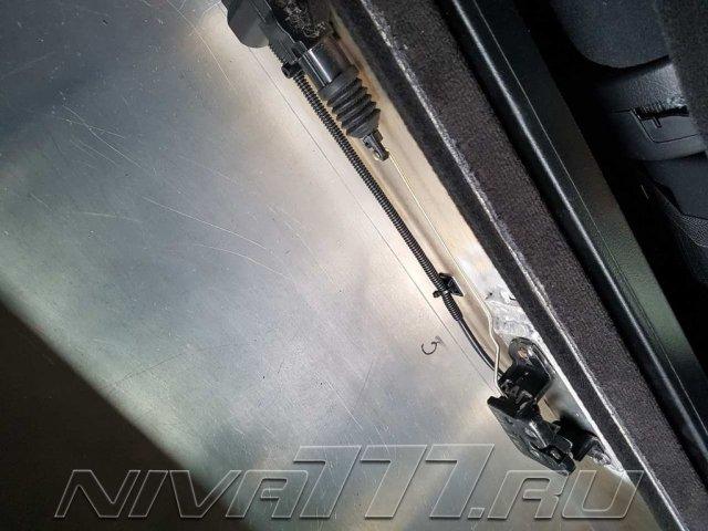 Техцентр Нива777 наши работы: Сейф в багажник (8)