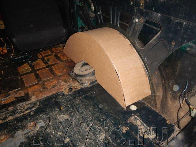 Техцентр Нива777 наши работы: Нива 2131 алюминий в багажник (3)