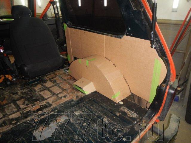 Техцентр Нива777 наши работы: Нива 2131 алюминий в багажник (4)