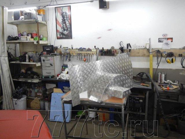 Техцентр Нива777 наши работы: Нива 2131 алюминий в багажник (6)