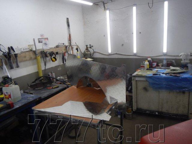 Техцентр Нива777 наши работы: Нива 2131 алюминий в багажник (7)