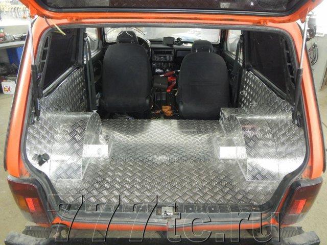 Техцентр Нива777 наши работы: Нива 2131 алюминий в багажник (1)