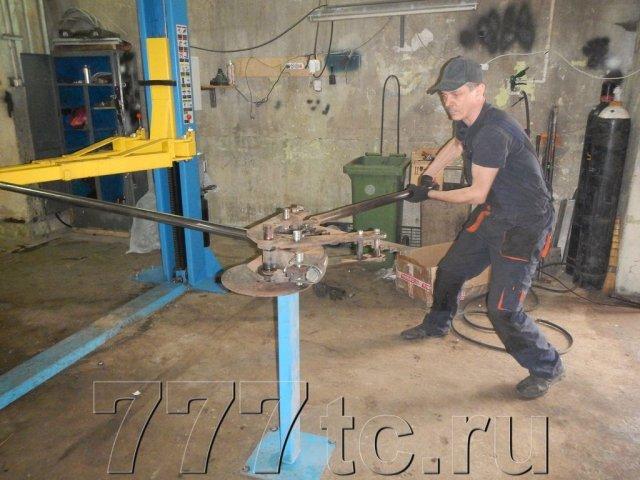 Техцентр Нива777 наши работы: Нива 214 – силовые пороги (1)