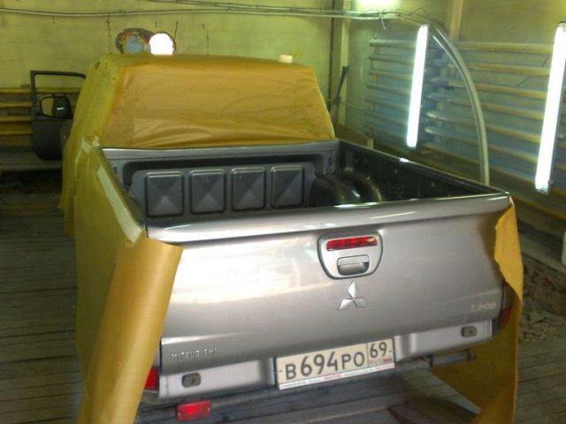 Техцентр Нива777 наши работы: Мицу L200 кузов в Раптор (9)