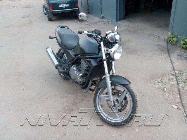 Техцентр Нива777 наши работы: Мотоцикл в раптор (4)