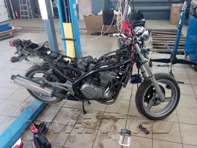 Техцентр Нива777 наши работы: Мотоцикл в раптор (7)