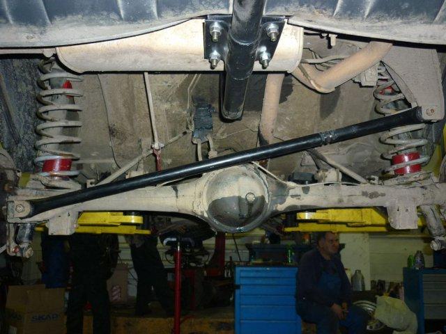 Лифт подвески Нива и Шевроле Нива для установки колес увеличенного диаметра 235/75R15 (29 дюймов) (9)