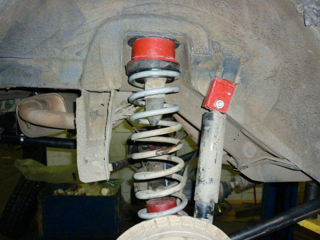 Лифт подвески Нива и Шевроле Нива для установки колес увеличенного диаметра 235/75R15 (29 дюймов) (8)