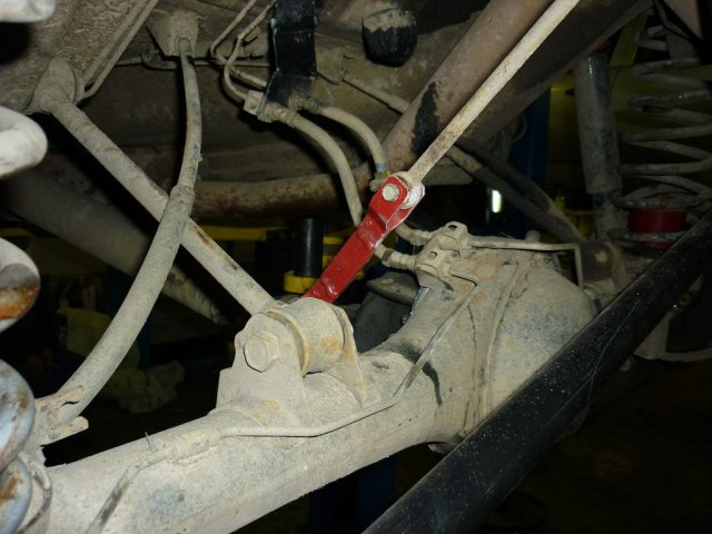 Лифт подвески Нива и Шевроле Нива для установки колес увеличенного диаметра 235/75R15 (29 дюймов) (7)