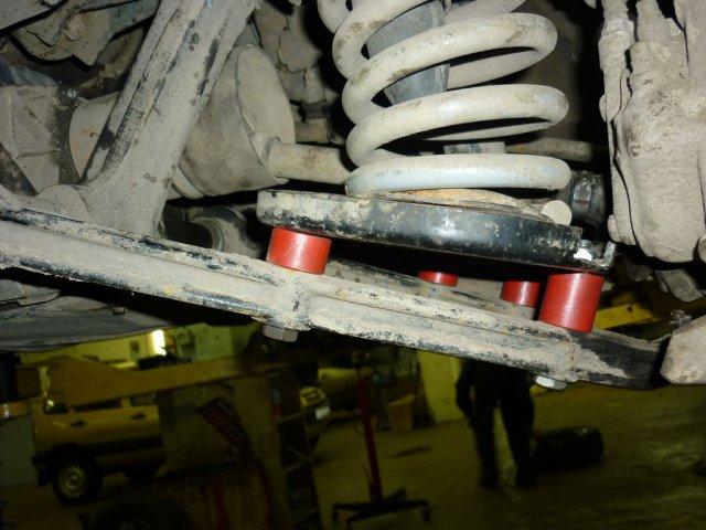 Лифт подвески Нива и Шевроле Нива для установки колес увеличенного диаметра 235/75R15 (29 дюймов) (4)