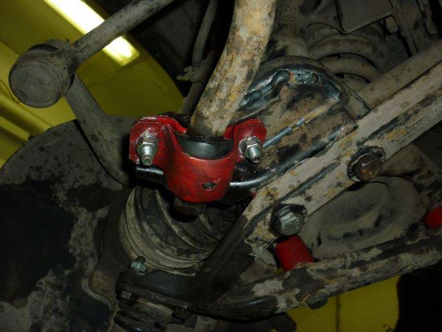 Лифт подвески Нива и Шевроле Нива для установки колес увеличенного диаметра 235/75R15 (29 дюймов) (10)