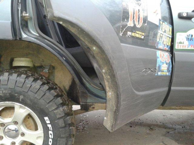 Доработка кузова (резка арок) Шевроле Нивы для установки 31-х колес (11)