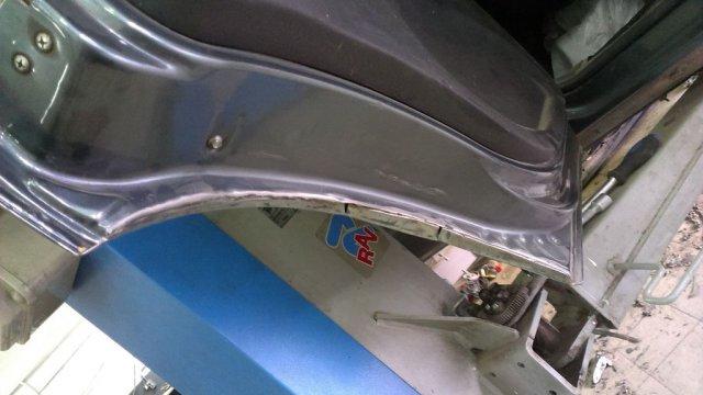 Доработка кузова (резка арок) Шевроле Нивы для установки 31-х колес (15)