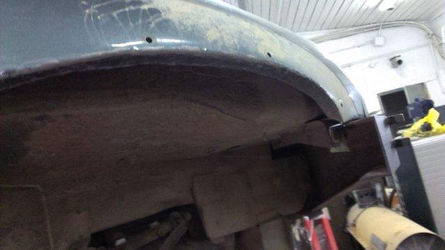 Доработка кузова (резка арок) Шевроле Нивы для установки 31-х колес (18)