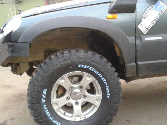 Доработка кузова (резка арок) Шевроле Нивы для установки 31-х колес (2)