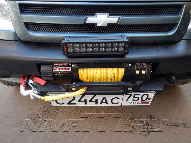 Техцентр Нива777 наши работы: Шнива установка мощной лебедки (2)