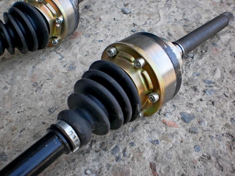 Усиленные приводы передних колес 24 шлица на Ниву и Шевроле Ниву (2)