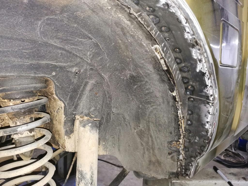 Доработка кузова (резка арок) Нивы для установки 31-х колес (6)
