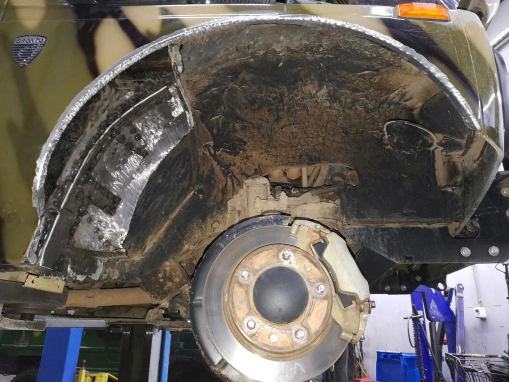 Доработка кузова (резка арок) Нивы для установки 31-х колес (8)