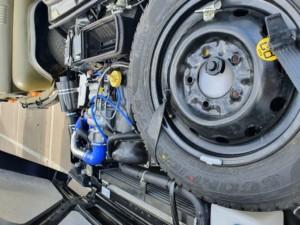 Техцентр Нива777 наши работы: Турбо Нива 0,5 Бар на 20 колёсах (7)